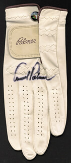 ARNOLD PALMER - GOLF GLOVE SIGNED