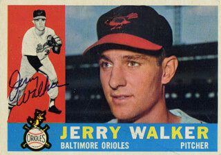 JERRY WALKER - TRADING/SPORTS CARD SIGNED
