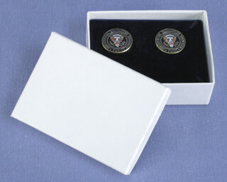 HMX HELICOPTER - CUFFLINKS UNSIGNED