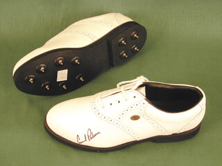 ARNOLD PALMER - GOLF SHOE SIGNED