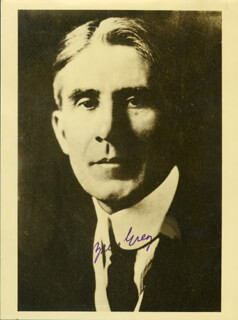 ZANE GREY - AUTOGRAPHED SIGNED PHOTOGRAPH
