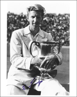 DON BUDGE - AUTOGRAPHED SIGNED PHOTOGRAPH