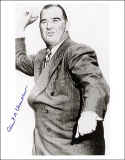 Autographs: ALBERT B. HAPPY CHANDLER - PHOTOGRAPH SIGNED