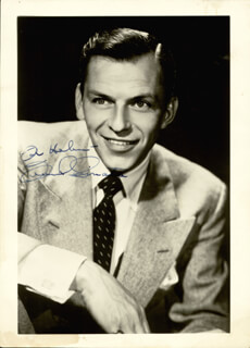 FRANK SINATRA - AUTOGRAPHED INSCRIBED PHOTOGRAPH