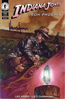 HARRISON FORD - COMIC BOOK SIGNED