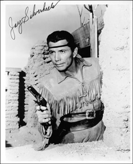 JAY TONTO SILVERHEELS - AUTOGRAPHED SIGNED PHOTOGRAPH