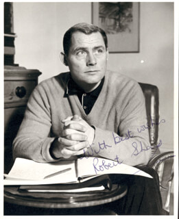 ROBERT SHAW - AUTOGRAPHED SIGNED PHOTOGRAPH