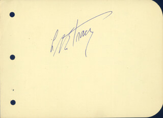 LEE TRACY - AUTOGRAPH
