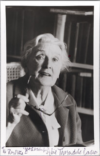 DAME SYBIL THORNDIKE - AUTOGRAPHED INSCRIBED PHOTOGRAPH