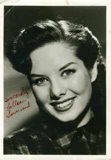 COLLEEN TOWNSEND - AUTOGRAPHED SIGNED PHOTOGRAPH