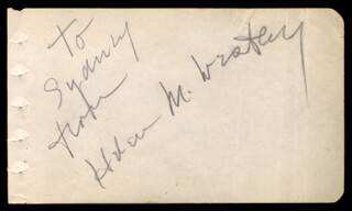 HELEN M. WESTLEY - INSCRIBED SIGNATURE