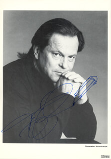 TERRY GILLIAM - AUTOGRAPHED SIGNED PHOTOGRAPH