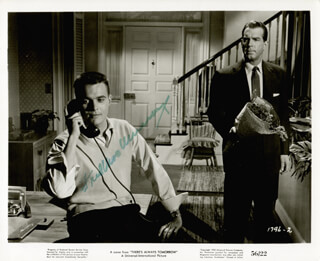 FRED MacMURRAY - PRINTED PHOTOGRAPH SIGNED IN INK