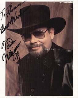 HANK WILLIAMS JR. - AUTOGRAPHED INSCRIBED PHOTOGRAPH