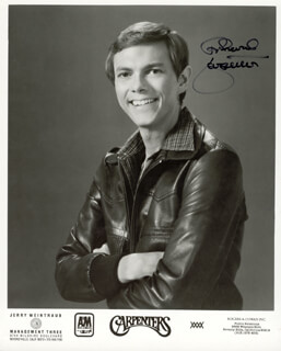 RICHARD CARPENTER - AUTOGRAPHED SIGNED PHOTOGRAPH