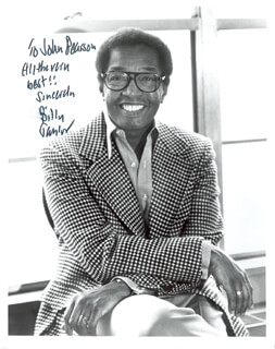 BILLY TAYLOR - AUTOGRAPHED INSCRIBED PHOTOGRAPH
