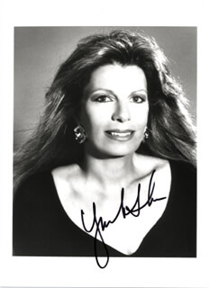 Autographs: PRINCESS YASMIN AGA KHAN (SWITZERLAND) - PHOTOGRAPH SIGNED