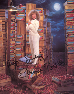 ELAYNE BOOSLER - AUTOGRAPHED SIGNED PHOTOGRAPH
