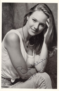 SHARON SHARON NEWMAN CASE - AUTOGRAPHED SIGNED PHOTOGRAPH