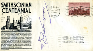 FRANK J. WESTPHAL - FIRST DAY COVER SIGNED