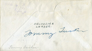 TOMMY LITTLE TOMMY TUCKER TUCKER - FIRST DAY COVER SIGNED
