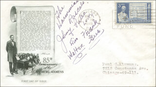 JOHNNY PULEO - FIRST DAY COVER SIGNED
