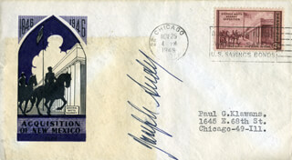 JOSEPH SUDY - FIRST DAY COVER SIGNED