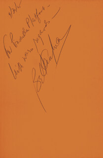 BEL KAUFMAN - INSCRIBED BOOK SIGNED 04/30/1965