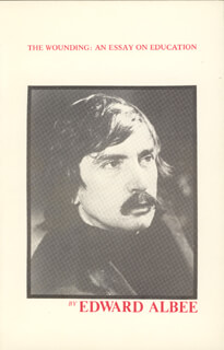 Autographs: EDWARD ALBEE - BOOK SIGNED CIRCA 1981