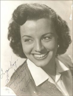 KAY STARR - AUTOGRAPHED INSCRIBED PHOTOGRAPH
