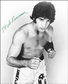MIKE ROSSMAN - AUTOGRAPHED SIGNED PHOTOGRAPH