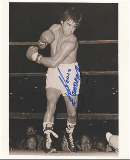 ALFONSO ZAMORA - AUTOGRAPHED SIGNED PHOTOGRAPH