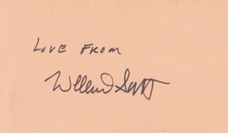 WILLARD H. SCOTT JR. - AUTOGRAPH SENTIMENT SIGNED