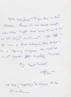 FAITH BALDWIN - AUTOGRAPH LETTER SIGNED 6/24