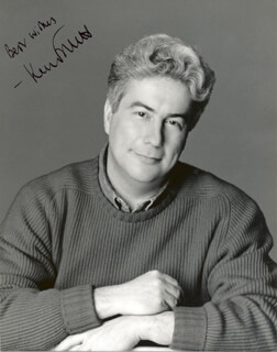 KEN FOLLETT - AUTOGRAPHED SIGNED PHOTOGRAPH