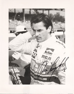 ARIE LUYENDYK - AUTOGRAPHED SIGNED PHOTOGRAPH