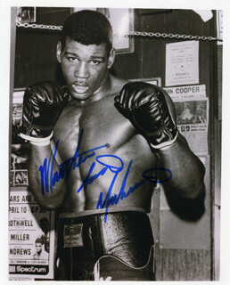 MATTHEW SAAD MUHAMMAD - AUTOGRAPHED SIGNED PHOTOGRAPH
