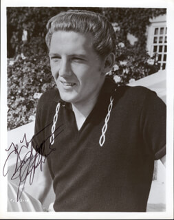 JERRY LEE KILLER LEWIS - AUTOGRAPHED INSCRIBED PHOTOGRAPH