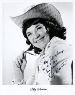 PATSY MONTANA - AUTOGRAPHED SIGNED PHOTOGRAPH