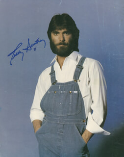 Autographs: ALABAMA (TEDDY GENTRY) - PHOTOGRAPH SIGNED