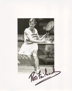 ROS FAIRBANK-NIDEFFER - AUTOGRAPHED SIGNED PHOTOGRAPH