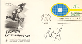 ROSIE (ROSEMARY) CASALS - FIRST DAY COVER WITH AUTOGRAPH SENTIMENT SIGNED