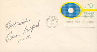 BRIAN GOTTFRIED - AUTOGRAPH SENTIMENT ON FIRST DAY COVER SIGNED 02/20/1989