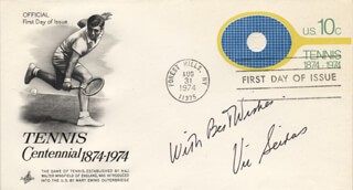 VIC (ELIAS VICTOR) SEIXAS JR. - AUTOGRAPH SENTIMENT ON FIRST DAY COVER SIGNED  - HFSID 222496