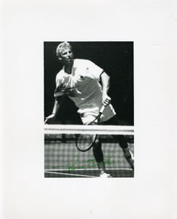 THOMAS MUSTER - AUTOGRAPHED SIGNED PHOTOGRAPH