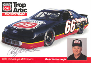 CALE YARBOROUGH - AUTOGRAPHED SIGNED PHOTOGRAPH