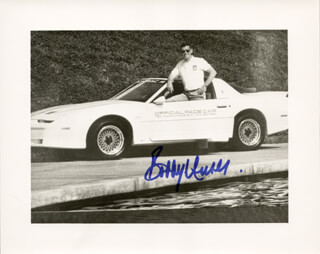BOBBY UNSER - AUTOGRAPHED SIGNED PHOTOGRAPH