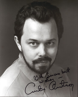 CURTIS ARMSTRONG - AUTOGRAPHED SIGNED PHOTOGRAPH