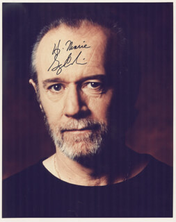 GEORGE CARLIN - AUTOGRAPHED INSCRIBED PHOTOGRAPH