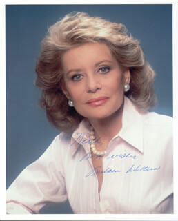 BARBARA WALTERS - AUTOGRAPHED INSCRIBED PHOTOGRAPH